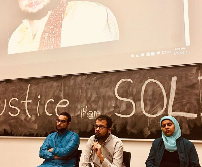 Yusuf Faqiri, Ibrahim Hindy and Rabia Khedr Speak at UFT Mississauga