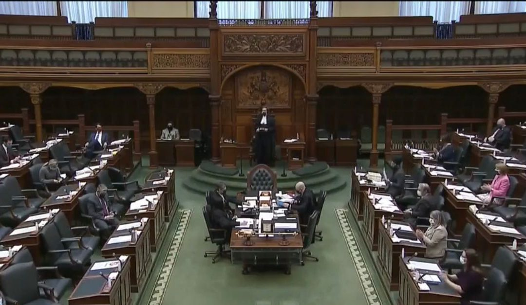 Ontario's Solicitor General refuses to respond to queries into Soleiman Faqiri's death during questioning in provincial legislature